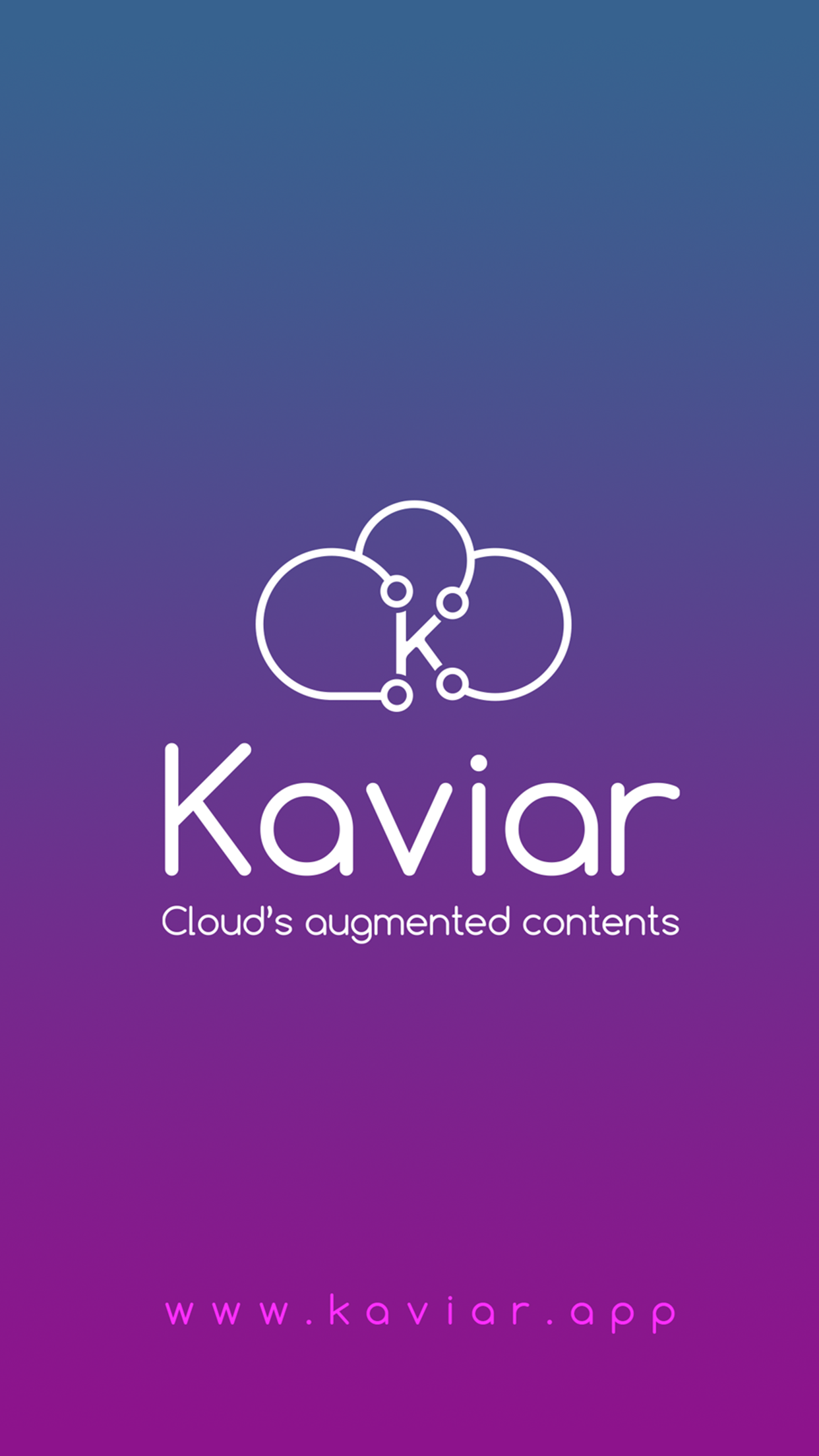 KaviAR app : Augmented Reality Software on Cloud + mobile